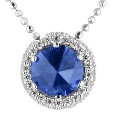 blue cubic zirconia necklace images Crislu blue and white cubic zirconia sugar drop necklace in jpg