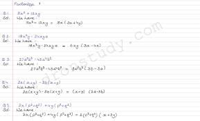 class 9 class x cbse r s aggarwal solutions polynomials ex 2 e