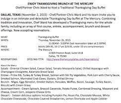 2015 thanksgiving guide where to pre order meals and dine out d