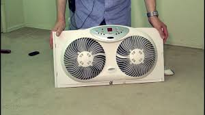 electrically reversible twin window fan bionaire twin reversible airflow window fan poke depot review