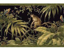 monkey wallpaper for walls justborders com tropical