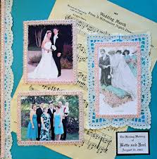 Scrapbook Wedding Album Backyard Landscape Wedding Scrapbook Make A Wedding Album