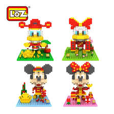 loz diamond blocks cny limited edition loz diamond block cny mickey minnie donald