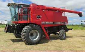 2002 massey ferguson 8780xp combine item a8635 sold aug
