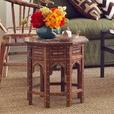 moroccan drum table wisteria