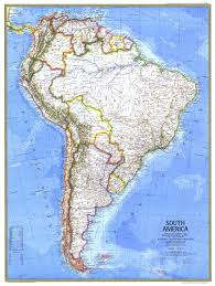 Geographical Map Of South America by South America Map World Map South America Map Physical South