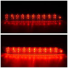 lexus rx300 ac light blinking amazon com 1 pair led rear bumper reflector brake light for