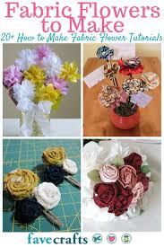 Fabric Flowers 22 Fabric Flowers To Make Favecrafts Com