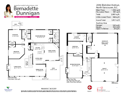 shaughnessy floor plan 2046 blairview avenue bernadette dunnigan