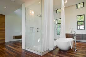 Modern Bathroom Windows Shower Curtain Bathroom Modern With High Ceiling Bathroom