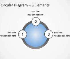 3d circular arrows template for powerpoint free powerpoint templates