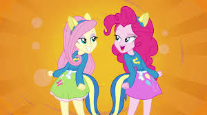 Eg Image Fluttershy And Pinkie Pie Splash Screen Eg Png My Little