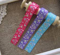 printed grosgrain ribbon flower printed grosgrain ribbon 22mm lace and trimming co
