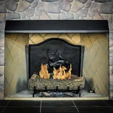 fireplace hood fire
