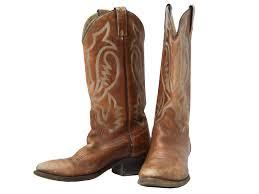 eighties vintage shoes 80s texas mens brown classic cowboy