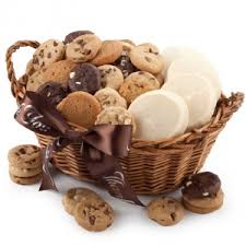 cookie basket mrs fields thank you basket