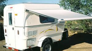 Awning For Travel Trailer Little Joe Lightweight Trailer Compact Camper Trailer For 2 By