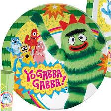 Yo Gabba Gabba Bed Set 1 X Yo Gabba Gabba Plate By Zak Brobee Toys