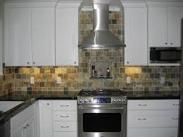 Slate Tile Backsplash Pictures And by Slate Tile Backsplash Bathroom Rustic With Wood Beams San Diego