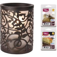 halloween wax warmer better homes and gardens wax warmer set vines walmart com