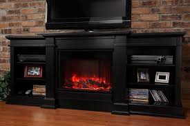 Electric Fireplace Tv by Electric Fireplace Tv Stand To Maximize Available Space Exist Decor