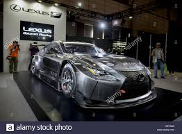 lexus japan tokyo japan 13th jan 2017 the new lexus rc f gt3 on display at