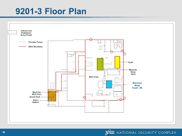 Machine Shop Floor Plan 1 Y 12 National Security Complex Performance Testing Workshop