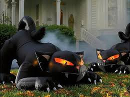 Halloween Decorations Outdoor Inflatables by Outdoor Inflatable Halloween Decorations Designcorner