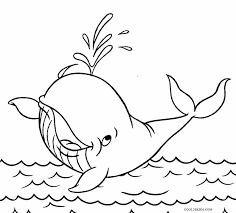 Printable Whale Coloring Pages For Kids Cool2bkids Whale Color Page