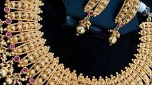 kerala gold necklace designs