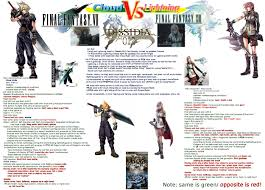 Final Fantasy Memes - cloud or lightning dissidia final fantasy nt message board for