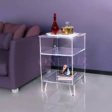cb2 acrylic nesting tables 3 piece peekaboo acrylic nesting table set cb2 in lucite end