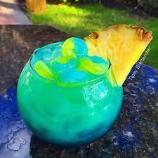 blue raspberry margarita pineapple punch life saver bowl blue layer 2 oz 60ml blue