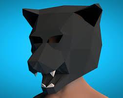 lion papercrafts 3d pattern mask pdf paper pattern lion