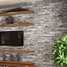 wallpaper design batu bata vinyl 3d stone wall paper roll brick wall wallpaper for living room
