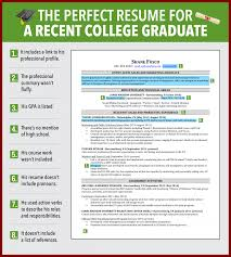 college graduates resume sles resume exles for recent college graduates exles of resumes