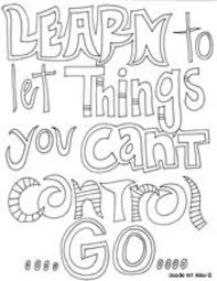 printable inspirational quotes to color quotes coloring pages