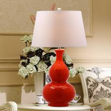 Table Lamps For Living Room Uk by Chinese Red Gourd Ceramic Table Lamp New Retro Decorative Chinese