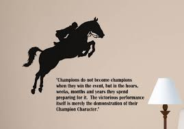 horse decal quote wall sticker wall words decal girls room