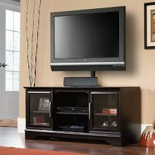 Lcd Panel Designs Furniture Living Room Sauder Select Estate Black Panel Tv Stand 412701