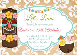 hawaiian birthday invitations u2013 gangcraft net