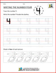 printable kindergarten math worksheets