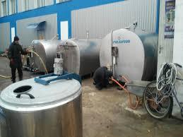 design of milk storage tank milk cooling tanks packo 5000 and 6000 liters ukraine poltava