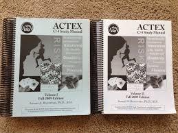 actex mlc study manual