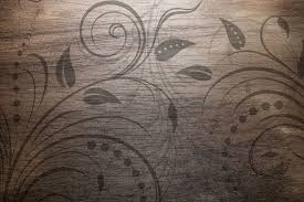texture design vintage wood texture with swirl floral design photohdx