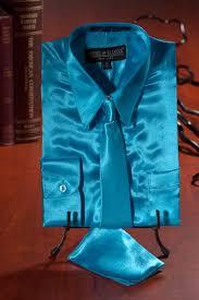 boys light blue tie boys turquoise light blue stage party satin dress shirt