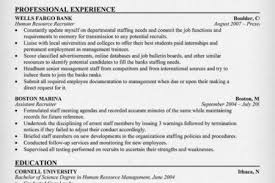 Hr Recruitment Resume Sample by Recruiter Resume Summary Reentrycorps