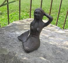 6 cast iron mermaid mythical sea creature