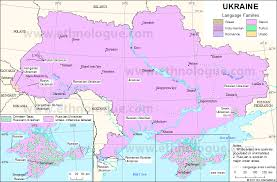 map ukraine ukraine ethnologue