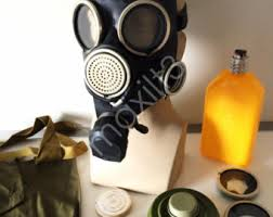 Halloween Gas Mask Costume Gas Mask Gp7 Etsy